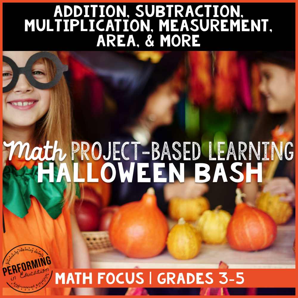 Halloween Math Project Based Learning: Throw a Bash 00043