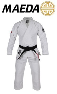 Maeda Red Label Jiu-Jitsu Gi (White)
