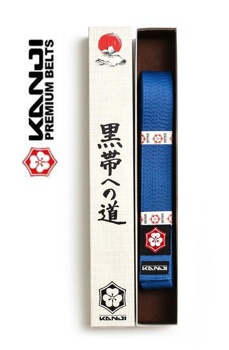 Kanji Premium Jiu-Jitsu Belt (Blue)