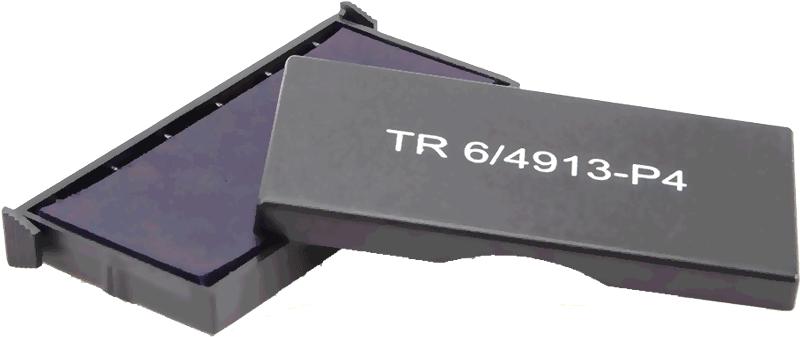 Сменная штемпельная подушка для штампа Trodat 4913_P4 58х22 мм