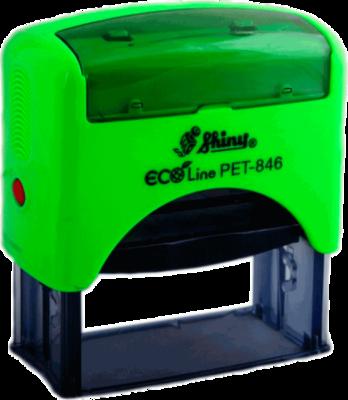 Штамп автоматический SHINY 846-PET штамп 65х27 мм