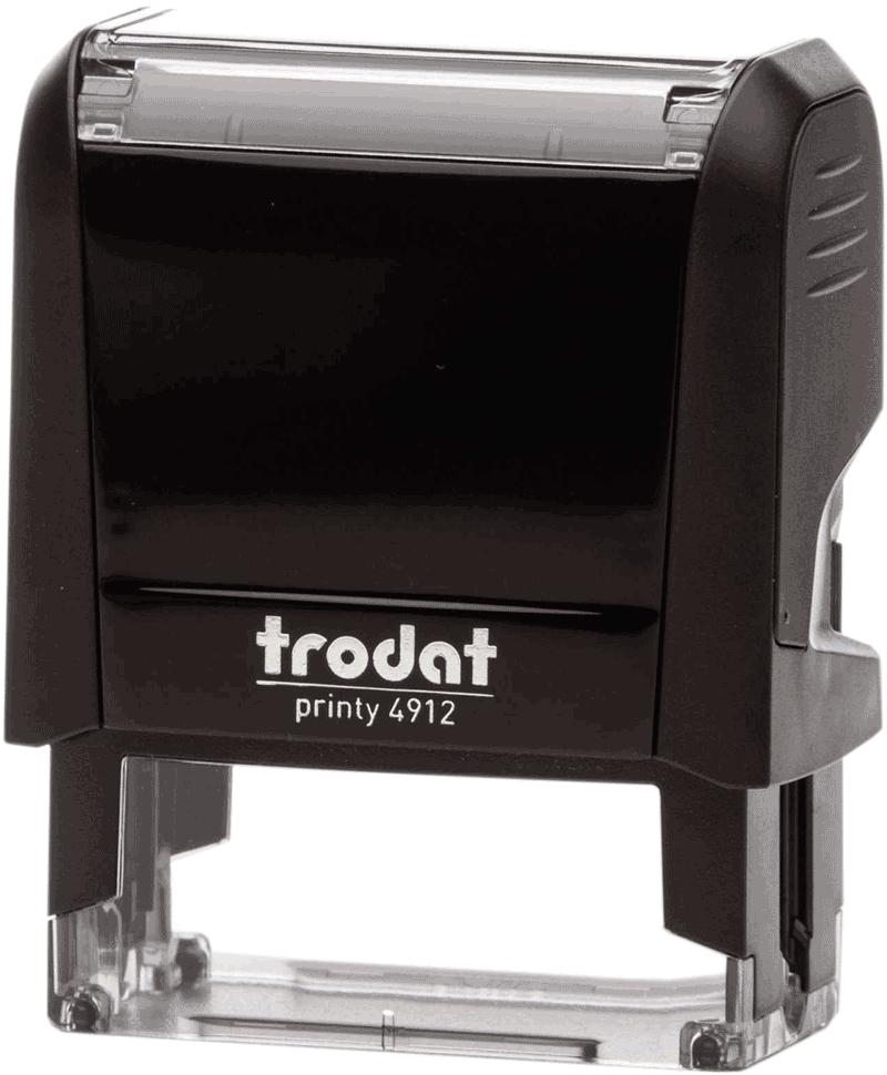 Штамп автоматический Trodat 4912 47х18 мм