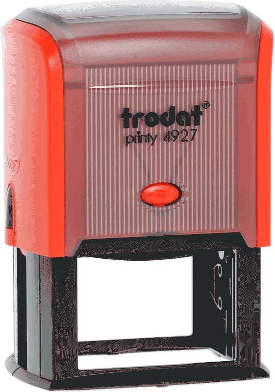 Штамп автоматический Trodat 4927 60х40 мм