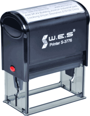 Штамп автоматический W.E.S. S-3776  76х37 мм