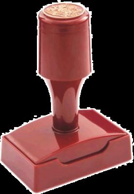 Штамп флэш (красконаполненный) ВР4524-КН 45х24 мм