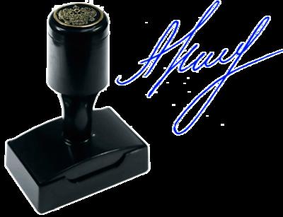 Факсимиле флэш (красконаполненное) ВР5229-КН, 52х29 мм