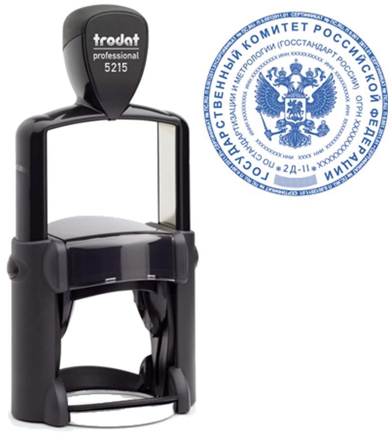 Печать Trodat Professional 5215 45 мм 00087