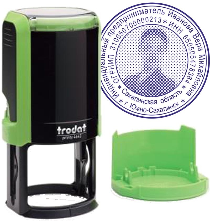 Печать с защитой Trodat Printy 4642 00120