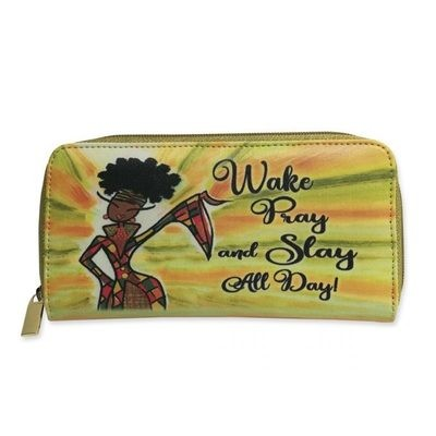 Women's Wallet (Wake, Pray, and Slay all Day)
