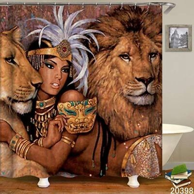 Shower Curtain (Cleopatra)