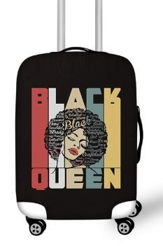 Luggage Cover (Black Queen)