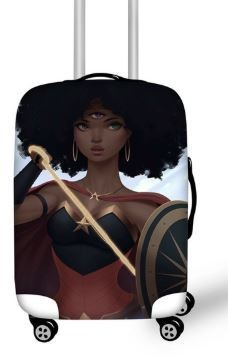 Luggage Cover (Woke Warrior)