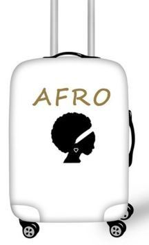 Luggage Cover (Afro Princess)