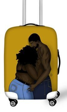Luggage Cover (Real Love)