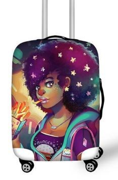 Luggage Cover (Sparkle)