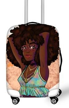 Luggage Cover (Summertime Fun)