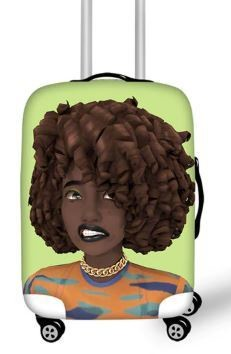 Luggage Cover (Curl fro)