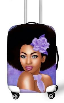 Luggage Cover (Purple Passion)