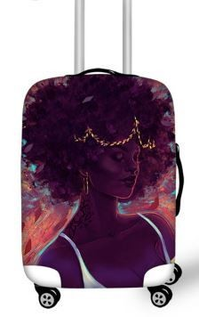 Luggage Cover ( Black Beauty)