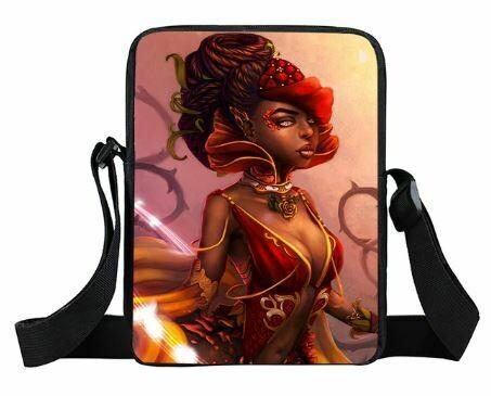Girls Mini Messenger Bag (Design #19)