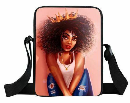 Girls Mini Messenger Bag (Design #23)