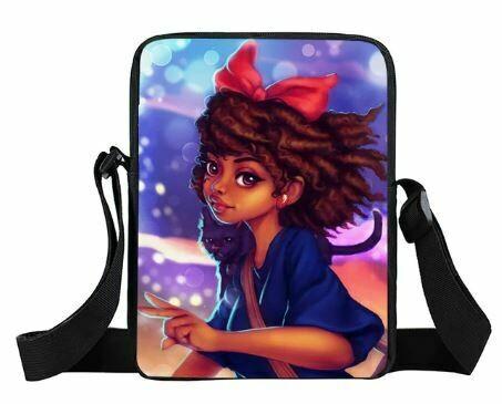 Girls Mini Messenger Bag (Design #7)