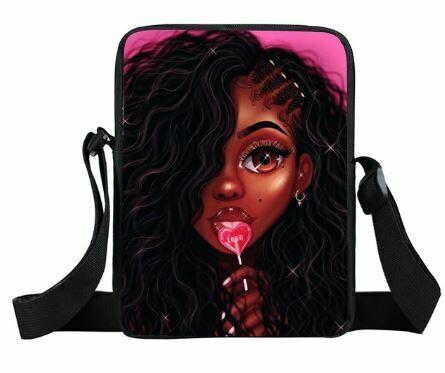 Girls Mini Messenger Bag (Design #10)