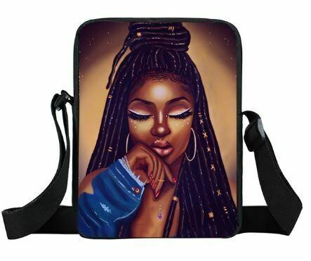 Girls Mini Messenger Bag (Design #21)