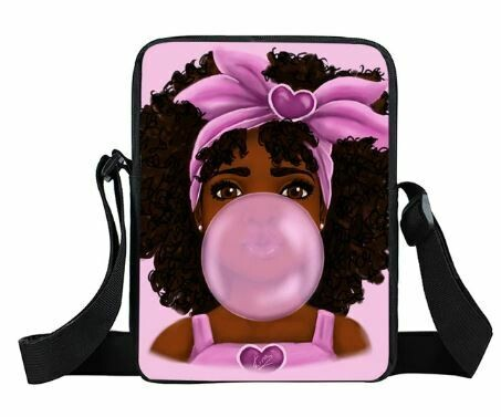 Girls Mini Messenger Bag (Design #22)