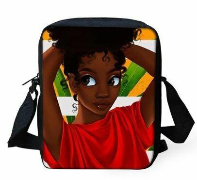 Girls Mini Messenger Bag (Design #14)