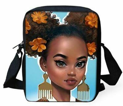 Girls Mini Messenger Bag (Design #4)