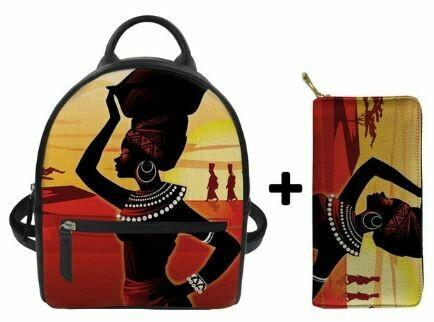 Fashion BlackPack & Wallet  (Design 26)