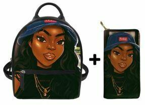 Fashion BlackPack & Wallet  (Design 37)