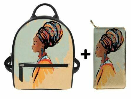 Fashion BlackPack & Wallet (Design 22)