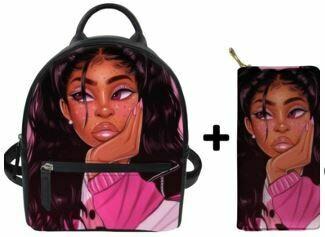 Fashion BlackPack & Wallet  (Design 48)