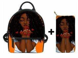 Fashion BlackPack & Wallet  (Design 43)