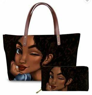 Luxury Handbag & Wallet (Design 10)