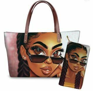 Luxury Handbag & Wallet (Design 17)