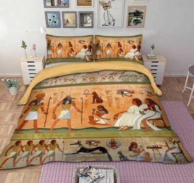 Egyptian Duvet Cover Set (Design 5)