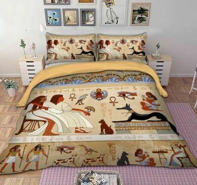 Egyptian Duvet Cover Set (Design 6)