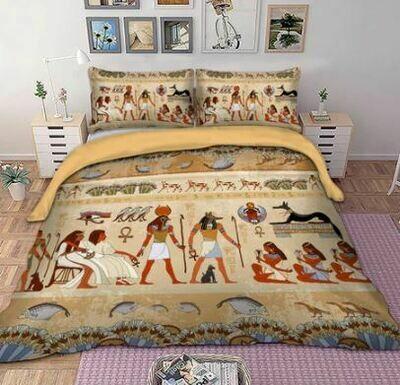 Egyptian Duvet Cover Set (Design 7)