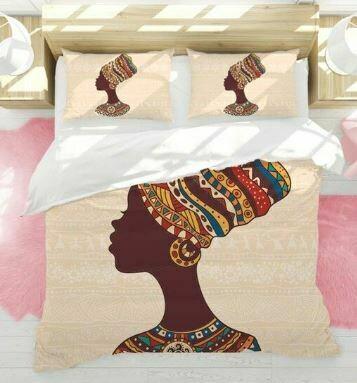 Afrocentric Duvet Cover Set (Design 1)