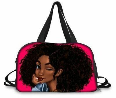 BlackArt Duffel Bag (Design #2)