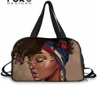 BlackArt Duffel Bag (Design #4)