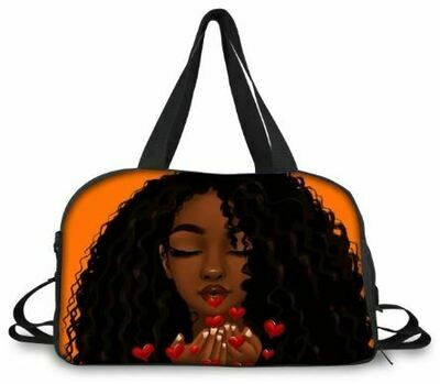 BlackArt Duffel Bag (Design #5)