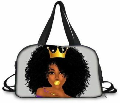 BlackArt Duffel Bag (Design #17)