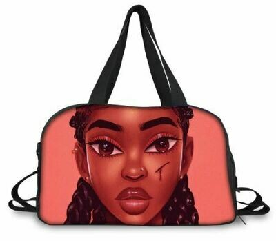 BlackArt Duffel Bag (Design #20)