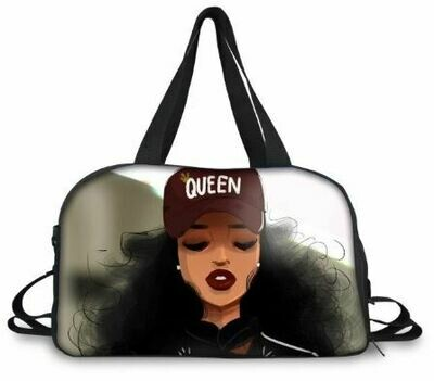 BlackArt Duffel Bag (Design #27)