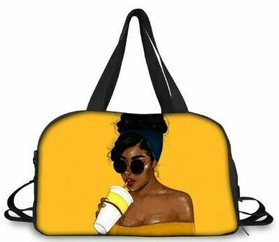BlackArt Duffel Bag (Design #25)