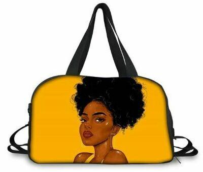 BlackArt Duffel Bag (Design #29)